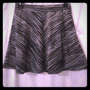 NWT Joe B Knit Flare Mini Skirt
